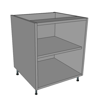 300 Wide Single Door Bedside Cabinet, 640 H.