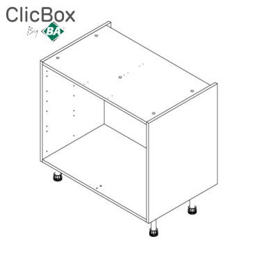 Clicbox Full Drawer Base Units