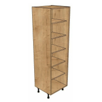 1970mm High Full size Door Shelved cabinets