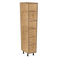 1825mm High Splayed Larder cabinet