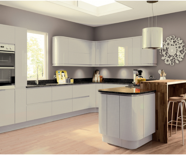 Kitchen Cabinets Handleless: Lacarre Handleless Kitchen Doors