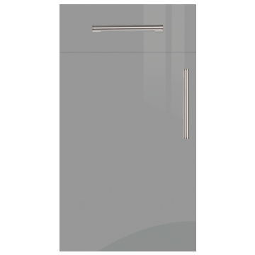 Firbeck Super-Gloss Dust Grey Kitchen Doors