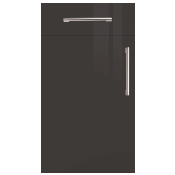 Firbeck Super-Gloss Graphite Kitchen Doors