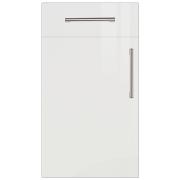 Firbeck Super-Gloss White Kitchen Doors