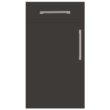 Firbeck Super-Matt Graphite Kitchen Doors