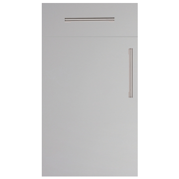 Firbeck Super-Matt Light Grey Kitchen Doors