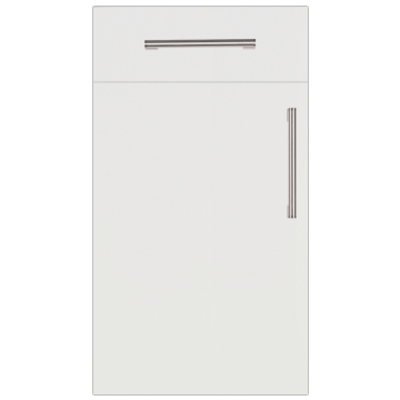 Firbeck Super-Matt White Kitchen Doors