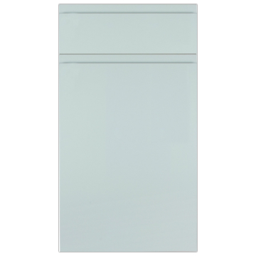 Rothwell Super-Matt Light Grey Kitchen Doors